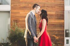 Modern Southern California Engagement Photos | Brit Jaye Photography | Scripps Seaside Forum  | Reverie Gallery Wedding Blog