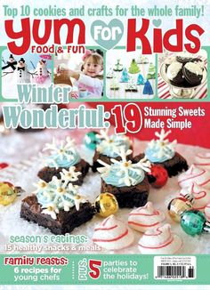 Christmas Party Ideas with Yum Food and Fun for Kids Magazine by Bird's Party