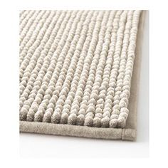 TOFTBO Bathmat - IKEA got this for my bathroom - it has a sort of sticky stuff on the bottom that will keep it from slipping on the bathroom floor - but is really soft Bathroom Rugs, Bath Rugs, Bathroom Ideas, Unisex Bathroom, Family Bathroom, White Bathroom, Bathroom Inspiration, Ikea Canada, Ikea Usa