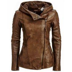 Sasha Womens Leather Jacket