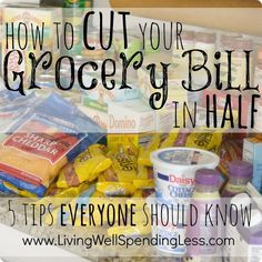 Fresh tips for family food budgets like using e-meals.com to plan meals based on a stores weekly sales. grocery budgets
