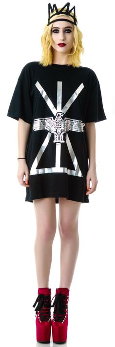 Long Clothing x BOY London Union Oversized Tee | Dolls Kill