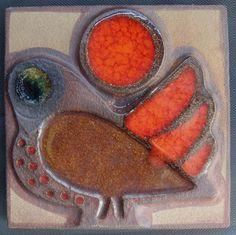 Soeholm Bornholm. Tile with Bird. Danish mid century design | eBay