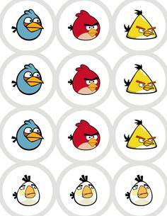 Craft, Interrupted: Angry Birds Party Favors ~ BackPack Buddies w/ Printable