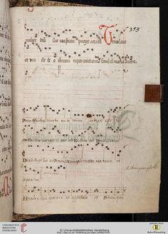 Antiphonarium Cisterciense Salem, um 1200 Cod. Sal. X,6b  Folio 153r