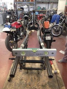 #hondacb900f project building a new rear frame