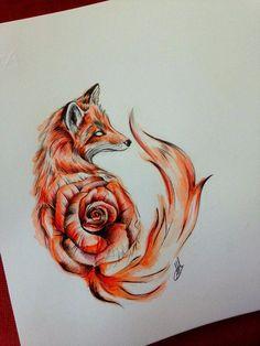 Foxies fox tattoo, tattoos и tattoo designs. Wolf Tattoos, Animal Tattoos, Celtic Tattoos, Girl Tattoos, Trendy Tattoos, Cute Tattoos, Body Art Tattoos, Sleeve Tattoos, Stomach Tattoos