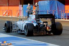 Susie Wolff, Formule 1-test op Circuit de Catalunya, 14 May 2014, Formule 1