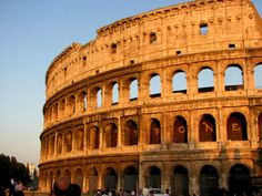 Sunsets on the Colosseum 30 things to do in Rome