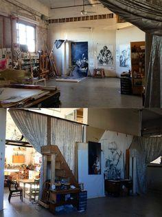 Maria Kreyn's Studio #workspace