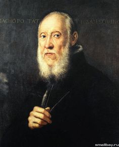 Якопо Тинторетто «Портрет архитектора и скульптора Якопо Сансовино». 1571. Галерея Уффици, Флоренция.