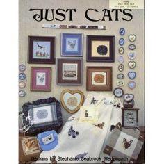 30+ Kitty Cat Cross Stitch Patterns Just Cats Siamese Himalayan Burmese Rex