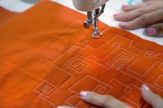 Free Motion Quilting pattern