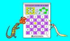 Math Games 5th grade Captain Salamander