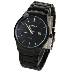 10.63$  Buy here - http://ditgc.justgood.pw/go.php?t=WM0121301 - Curren Quartz Watch with Strips Indicate Steel Watch Band for Men