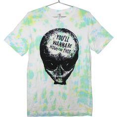 b94b47691e668 Tye Dye Alien T-shirt - You ll Wanna Be High For This UNISEX
