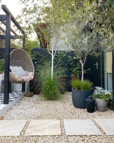 Small Backyard Landscaping, Modern Landscaping, Backyard Patio, Small Space Gardening, Garden Spaces, Outdoor Projects, Garden Projects, Landscape Design, Garden Design