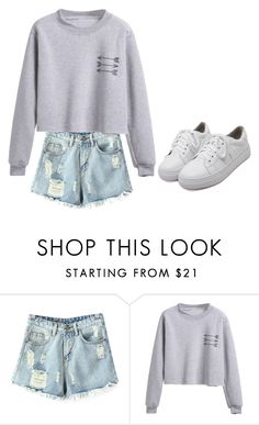 """Untitled #1321"" by telletubbies ❤ liked on Polyvore featuring Chicnova Fashion and WithChic"