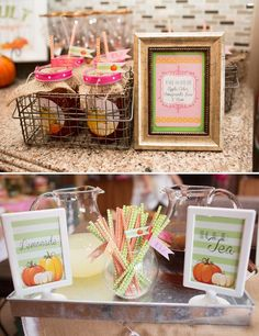 Adorable Little Pumpkin Birthday Party {Fall Harvest}