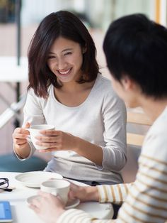 asian drinking coffee - Google Search