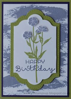 stampin up wild about flowers - Google Search