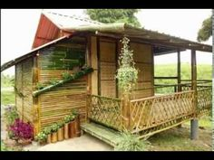 Home design ideas paws up gif royal canin Bamboo House Design, Small House Design, Bahay Kubo Design Philippines, Garden Huts, Cabana, Small Modern House Plans, Hut House, African House, Bamboo Architecture