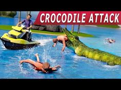Crocodile Attack 2016 top games android - YouTube