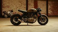 Yamaha XV750 Cafe Racer – BikeBound