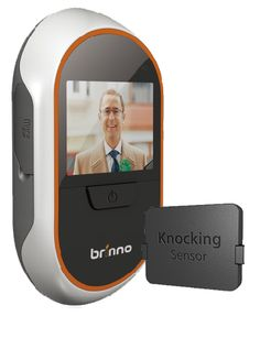 Brinno PHV133012 Digital Peephole Door Viewer with knock sensor