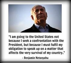 I'm with Bibi Netanyahu's photo.