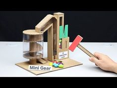 How to make mini games out of cardboard