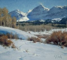 Late  Winter by Matt Smith Oil ~ 11 x 12