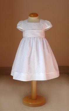 robe de baptême Jazmin et ensemble bloomer chemisette