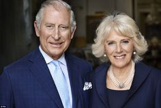 Milestone: Prince Charles and the Duchess of Cornwall photographed at their official London residence, Clarence House, earlier this year. The portrait, taken by Mario Testino, has been released to mark the duchess' 70th birthday on Monday
