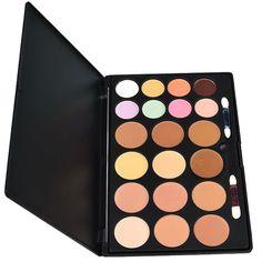 Professional 20 Colors Cream Concealer Camouflage Makeup Palette Contouring Kit