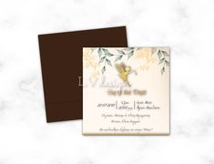 Baptism Invitations, Place Cards, Place Card Holders