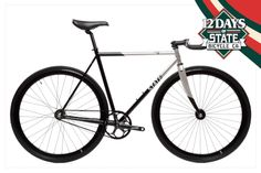 12 Days of State Day 8 - Amazing deal on the Contender II - originally $649 - get it for the next 24hours for only $399!! Here: https://www.statebicycle.com/products/12-days-of-state-daily-deal-8-399-contender-ii #bicyclehobbies  #bikeaccessories  #cycleisfun  #cycleforlife