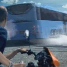 El comercial de buses más cool del mundo