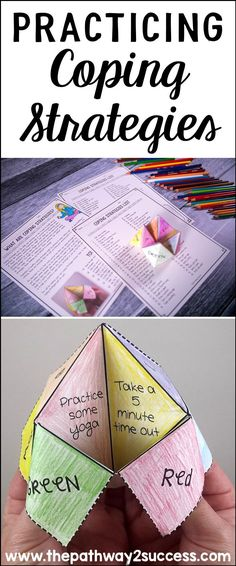 Practicing Coping Strategies (with a craft!)