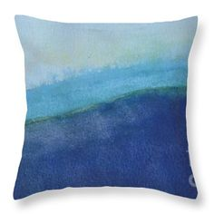 Abstract Landscape Throw Pillow featuring the painting Spring In The Valley by Vesna Antic Pillow Sale, Abstract Landscape, Gift Guide, America, Throw Pillows, Artists, Fine Art, Crafty, Wall Art