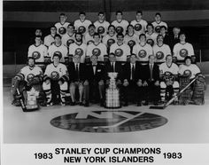 The 1983 Stanley Cup Champion New York Islanders.