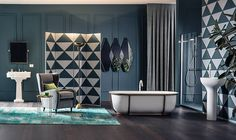 Lounge Bathrooms on Behance