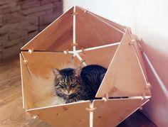 GeoBed : un abri géométrique pour les félins