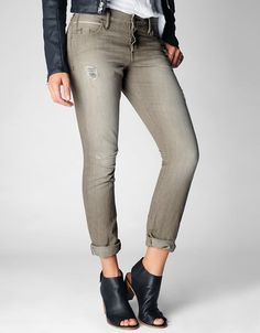 The Audrey is our latest boyfriend fit to join the Brianna and Cameron. She features a flattering slim fit that exudes femininity and is never...