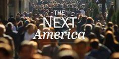 The Next America Interactive Infographic.
