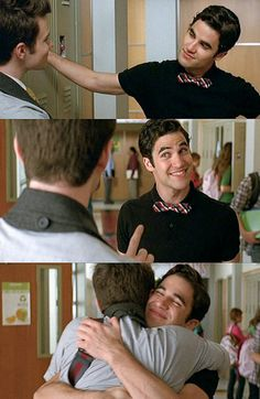 ONE OF THE BEST SCENES IN KLAINE HISTORY AFTER THEM WALKING DOWN THE AISLE, THEM MEETING, OKAY I COULD JUST GO ON AND ON...:)