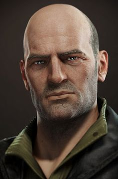 Uncharted 3 Portrait Charlie Cutter