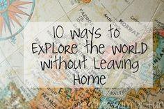 You don't have to travel to experience another culture. Here are 10 Ways to Explore the World Without Leaving Home. How do you like to experience other cultures? world cultures, activities for kids, stuff, culture and kids, leav, explor, travel, social studi, culture in the classroom