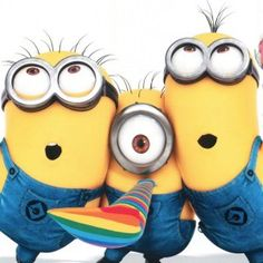 """Start your day from these """"Top Minion Friday Quotes"""" because it will make your day happy and also funny.So scroll down and keep reading these """"Top Minion Friday Quotes"""". Happy Birthday Minions, Happy Birthday Video, Birthday Songs, Singing Happy Birthday, Happy Minions, Birthday Images, Happy Birthday Boss, Humor Minion, Minions Quotes"""