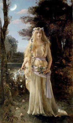 "Alfred Stevens (Belgian, 1823-1906), ""Ophelia"" | Flickr - Photo Sharing!"
